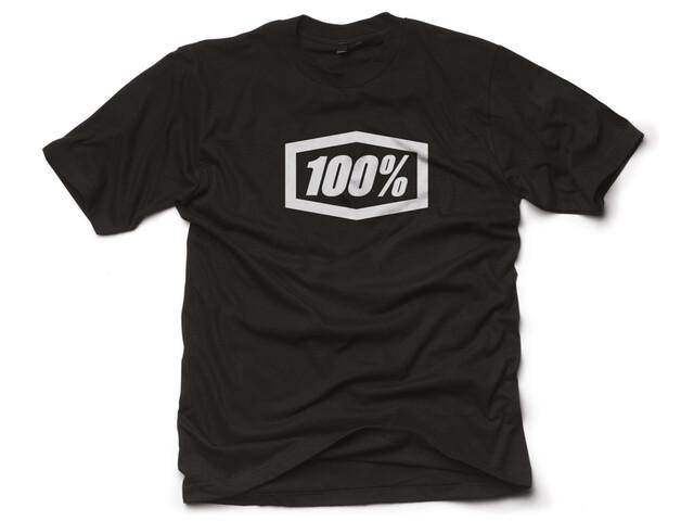 100% Essential T-Shirt Heren zwart